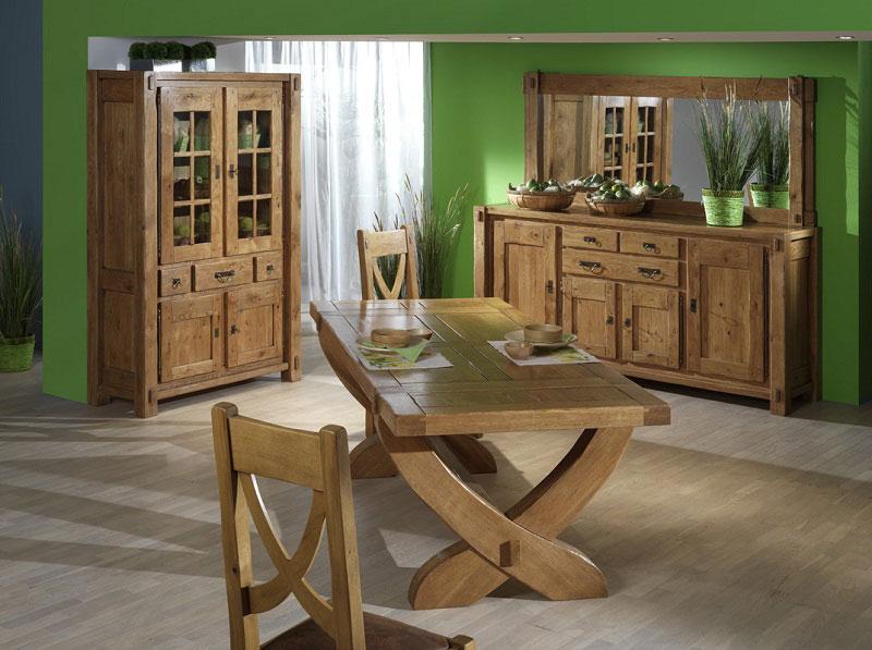 S jours saint marcellin saint marcellin par les meubles bodin literie tables en bois cuisines - Meuble de salle a manger rustique ...