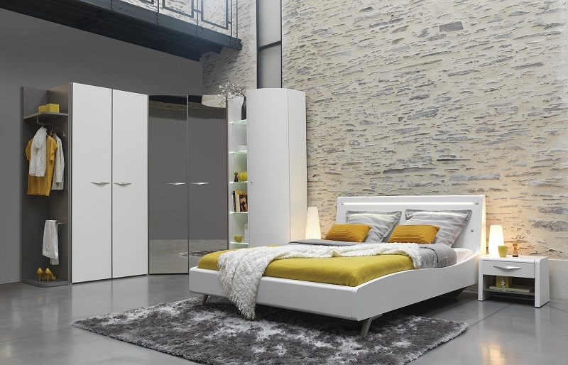 dressings saint marcellin lit pont avec rangement saint. Black Bedroom Furniture Sets. Home Design Ideas